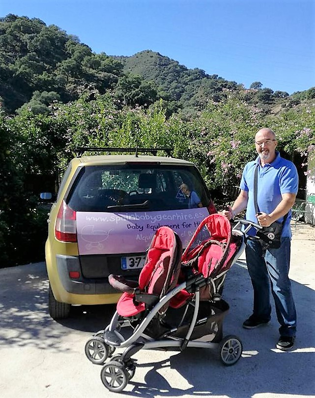Baby equipment for hire Marbella, Estepona, Mijas